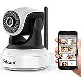 Sricam Cámara IP 1080P, Cámara Vigilancia WiFi Interior Inalámbrico, con Micrófono y Altavoz, Visión Nocturna, Detección de Movimiento,...