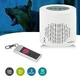 GreenBlue GB115 - Alarma inalámbrica con el Sonido del Perro ladrando, Sensor de Movimiento por Infrarrojos.