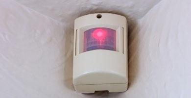 Alarma con detector de presencia para el hogar