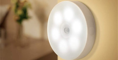 Luz inalámbrica con detector de presencia